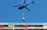 Symbolic image: helicopter aerial work