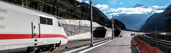 New Gotthard railway tunnel
