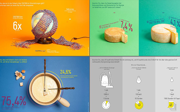 Infografiken BFE - Collage